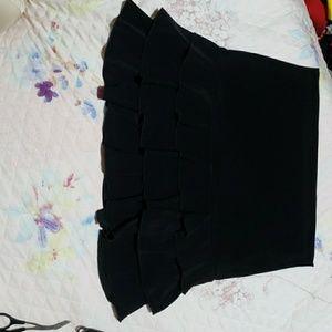 Wet Seal black mini skirt